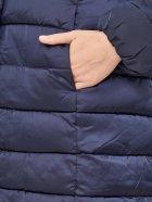 Куртка Champion 110955 42 Темно-синяя (8052785899401) - изображение 7