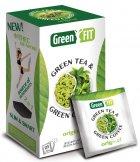 Чай + кофе зеленый пакетированный Green Fit для похудения 25 пакетиков (4820171913185) - изображение 1