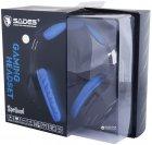 Наушники Sades SA-910 Spellond 7.1 Bass Vibration Stereo Gaming Headset (SA910-B-BL) - изображение 8