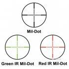 Оптический прицел Barska AR6 Tactical 1-6x24 (IR Mil-Dot R/G) (922719) - изображение 6