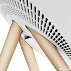 Акустична система Bang & Olufsen BeoPlay A9 White, incl. front cover, maple legs (2890-19) - зображення 5