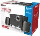 Акустическая система Trust Evon Wireless 2.1 Speaker Set Black (TR21184) - изображение 4