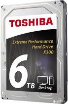 "Жорсткий диск Toshiba High-Performance X300 6TB 7200rpm 128MB HDWE160UZSVA 3.5"" SATA III - зображення 2"