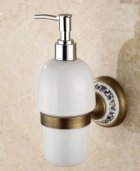 Дозатор для мыла жидкого Art Design Deco Бронза - изображение 1