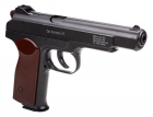 Пневматичний пістолет Gletcher APS BB Blowback Пістолет Стечкіна АПС блоубэк газобалонний CO2 120 м/с - зображення 4