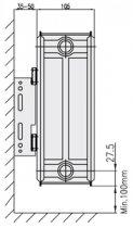 Радиатор стальной боковой COPA 22 тип 300x800 - изображение 6