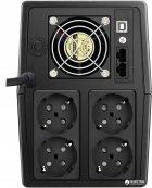 ДБЖ Mustek PowerMust 1500 Line Interactive 1500VA/900W Schuko (1500-LED-LI-T10) - зображення 2