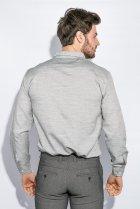 Рубашка классическая светлая Time of Style 333F013 XXXL Серый - изображение 3
