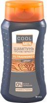 Шампунь Cool Men Ultraenergy против перхоти 250 мл (4823015930522) - изображение 1