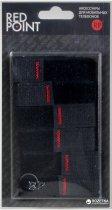 Органайзери для кабелів Red Point 6 шт. Black (Н.Ч.06.01.000) - зображення 2