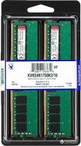 Оперативна пам'ять Kingston DDR4-2400 16384MB PC4-19200 (Kit of 2x8192) ValueRAM (KVR24N17S8K2/16) - зображення 2
