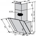 Вытяжка VENTOLUX TORINO 60 BG/X (750) PB - изображение 7
