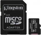 Kingston microSDXC 2х64GB Canvas Select Plus Class 10 UHS-I U1 V10 A1 + SD-адаптер (SDCS2/64GB-2P1A) - зображення 2