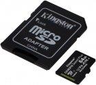 Kingston microSDXC 2х64GB Canvas Select Plus Class 10 UHS-I U1 V10 A1 + SD-адаптер (SDCS2/64GB-2P1A) - зображення 3