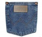 Джинсы мужские Wrangler 936 Cowboy Cut Slim Fit (облегающие) Stonewashed W36 L32 Голубые (6063263632) - изображение 7