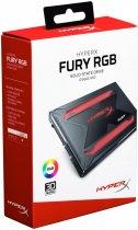 """Kingston SSD HyperX Fury RGB 960GB 2.5"""" SATAIII TLC (SHFR200/960G) - изображение 12"""