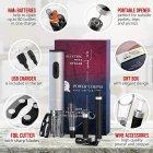 Подарочный набор Uncle Viner Power Couple, электроштопор с аккумуляторами и аксессуарами, Best seller в США - изображение 7