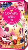 Смесь плодово-ягодного и цветочного чая с ароматом малины и карамели Lovare Ягодный пирог пакетированный 24 х 1.5 г (4820198872748) - изображение 2