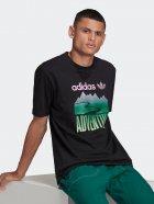 Футболка Adidas Adv Mount Tee GN2357 L Black (4064047778762) - изображение 3