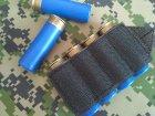 Комплект СайдСеддл (SideSaddle) BML – патронташ на ствольну коробку для дробовика 12 калібру з м'яких матеріалів (тканина) (77772) - зображення 4
