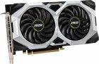 MSI PCI-Ex GeForce RTX 2060 Ventus 6G OC 6GB GDDR6 (192bit) (1710/14000) (3 x DisplayPort, 1 x HDMI 2.0b) (RTX 2060 VENTUS 6G OC) - зображення 3