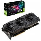 Asus PCI-Ex GeForce RTX 2060 ROG Strix O6G Gaming OC 6GB GDDR6 (192bit) (1860/14000) (2 x DisplayPort, 2 x HDMI 2.0b) (ROG-STRIX-RTX2060-O6G-GAMING) - зображення 5