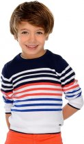 Джемпер Mayoral Mini Boy 3309-10 3A Блакитний (2903309010030) - зображення 4