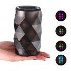 Портативная колонка Pulse светодиодная цветомузыка Bluetooth 13,5см Чёрная (CR-4) - изображение 3
