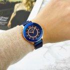 Жіночі наручні годинники Curren 9066 Blue-Cuprum - зображення 3