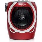 Портативна колонка радіо караоке MP3 USB Golon RX-678 Red - зображення 2