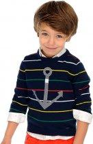 Джемпер Mayoral Mini Boy 3306-87 4A Синий (2903306087042) - изображение 4