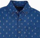 Рубашка Mayoral Boy 6134-87 12A Синяя (2906134087123) - изображение 3