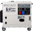 Генератор дизельный Konner&Sohnen KS 9202HDES-1/3 ATSR - изображение 3
