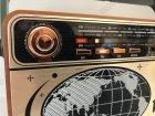 Аккумуляторный радиоприемник аудиосистема с пультом управления и Bluetooth радио Kemai Retro (MD-503BT) - изображение 4
