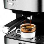 Кавоварка еспресо ріжкова напівавтоматична кавова машина DSP Espresso Coffee Maker KA-3028 850W - зображення 8