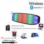 Бездротова акумуляторна Bluetooth колонка акустика New Rixing NR-2014 Original Blue - зображення 3