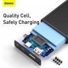 УМБ Baseus Super Mini 10000mAh 22.5 W 5A з технологією QC3.0+PD3.0 + Кабель USB to Type-C Чорний - зображення 14