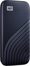 Western Digital My Passport 2TB USB 3.2 Type-C Midnight Blue (WDBAGF0020BBL-WESN) External - зображення 2