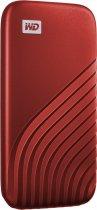 Western Digital My Passport 2TB USB 3.2 Type-C Red (WDBAGF0020BRD-WESN) External - зображення 2