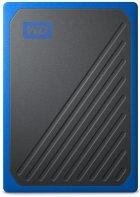 Портативный SSD USB 3.0 WD Passport Go 1TB Blue (JN63WDBMCG0010BBT-WESN) - зображення 1