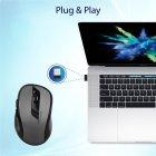 Миша Promate Clix-7 Wireless Black/Grey (clix-7.black) - зображення 5