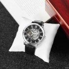 Наручные часы Forsining 8099 Black-Silver-Black мужские механические + подарочная коробка - изображение 3