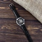 Наручные часы Forsining 8099 Black-Silver-Black мужские механические + подарочная коробка - изображение 8