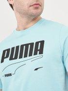 Футболка Puma Rebel Tee 58573849 S Angel Blue (4063697361867) - изображение 4