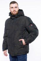 Куртка однотонная Time of Style 191P98854 XXL Темно-зеленый - изображение 3