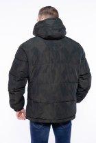 Куртка однотонная Time of Style 191P98854 XXL Темно-зеленый - изображение 5