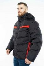 Куртка Time of Style 157P131104 46 Черно-красный - изображение 4