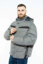 Куртка Time of Style 157P131104 56 Серо-черный - изображение 3