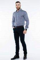 Рубашка в полоску Time of Style 511F054 XXXL Темно-синий/белый - изображение 2