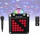 Портативна акустика з диско-кулею iDance Disco Cube BC100L, 50W - зображення 2